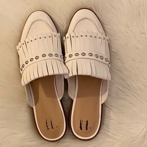 A New Day Fringe Studded Mules